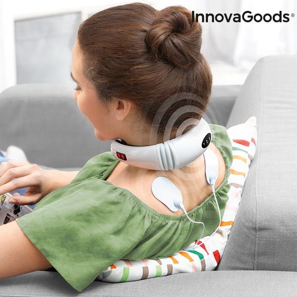Aparat de masaj pentru gat si spate electromagnetic 6