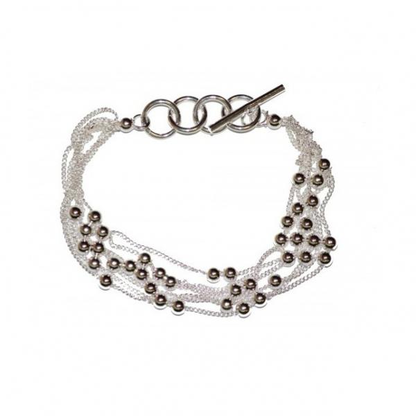 Bratara Glossy Beads 0