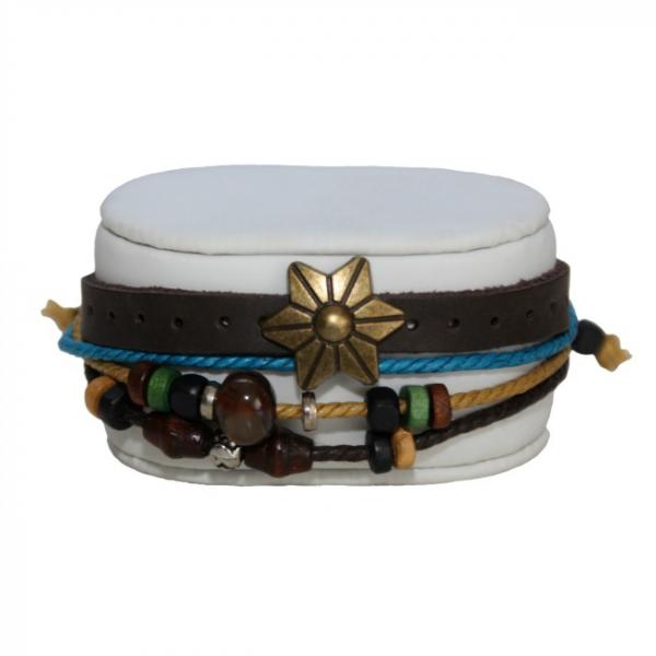 Bratara Wooden Beads 0