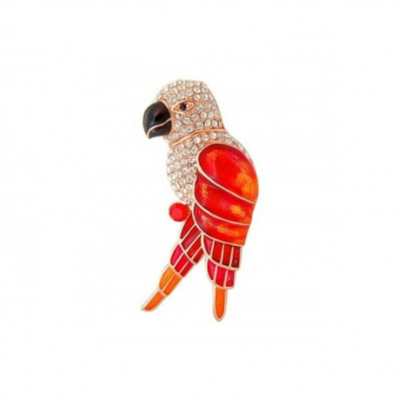 Brosa Red&Champagne Gold Parrot 0