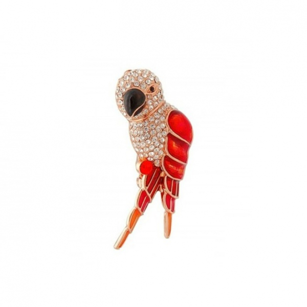 Brosa Red&Champagne Gold Parrot 1