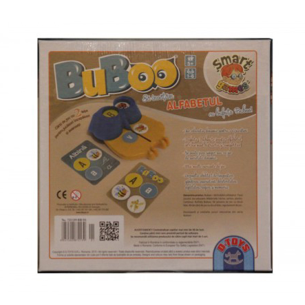 Buboo – Sa invatam alfabetul ! 5+ 1