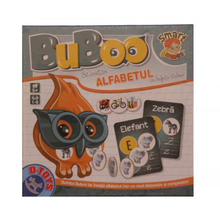 Buboo – Sa invatam alfabetul ! 5+ 0