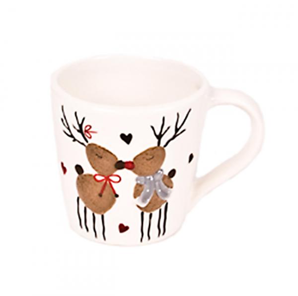 Cana ceramica Reindeer Romance 0