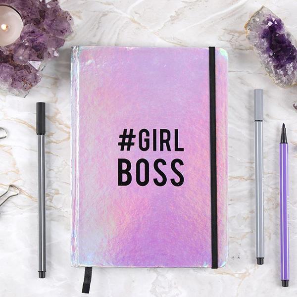 Carnet notite A5 Girl Boss 0