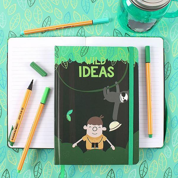 Carnet notite Wild Ideas 3