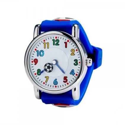 Ceas pentru copii Football Print 4