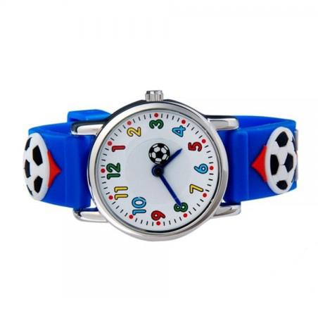 Ceas pentru copii Football Print 1