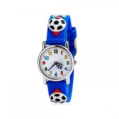 Ceas pentru copii Football Print 0