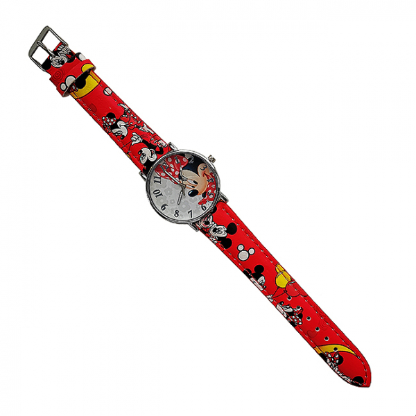 Ceas pentru copii Minnie Red 0