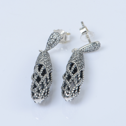 Cercei Elegance argint 3