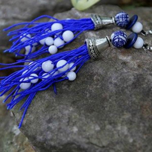 Cercei Tassels Tibet 2
