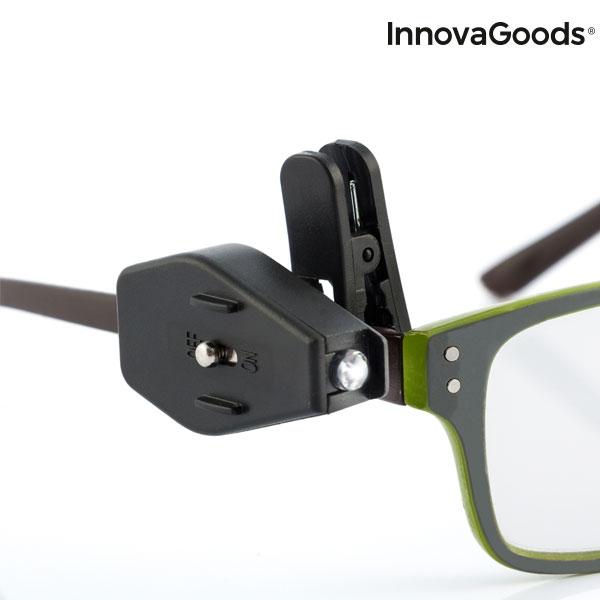 Clips cu LED 360 pentru ochelari - set 2 buc 4