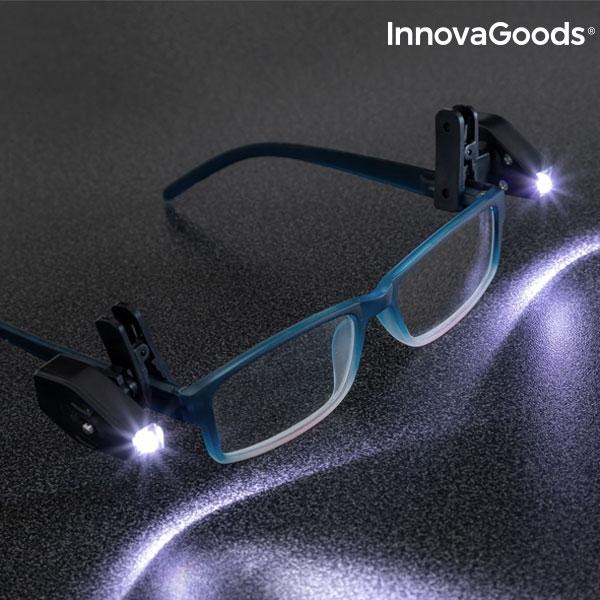Clips cu LED 360 pentru ochelari - set 2 buc 7