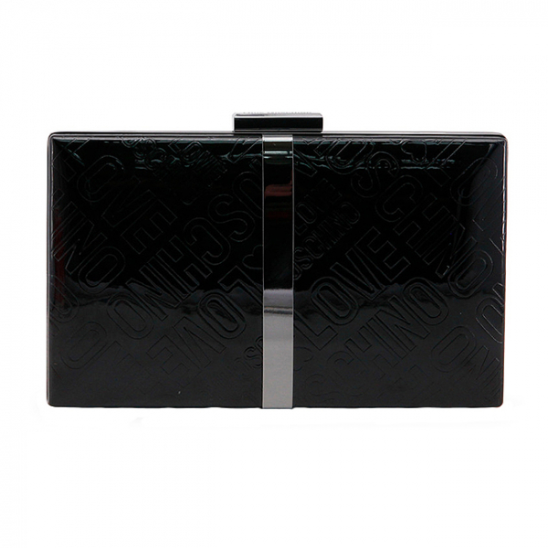 Clutch Love Moschino Negru 0