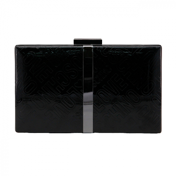 Clutch Love Moschino Negru 1