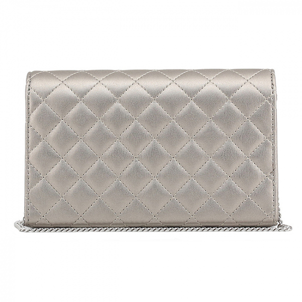 Clutch Love Moschino Silver 2