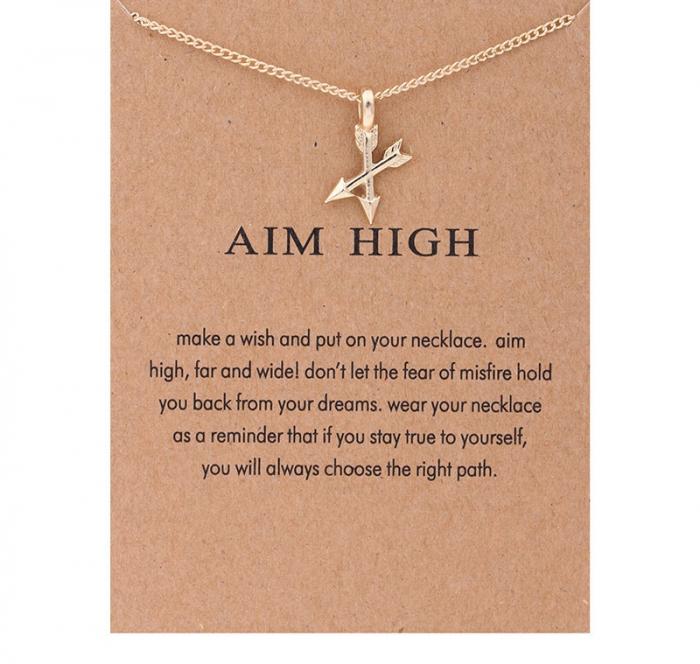 Colier Make a wish - Aim High 0