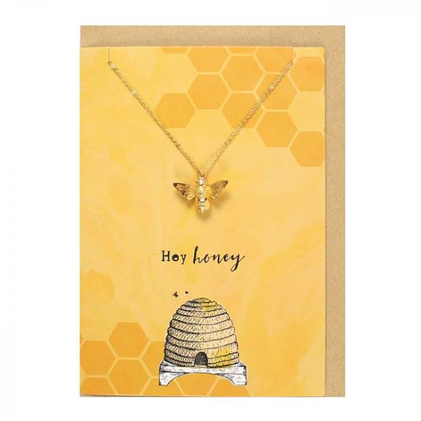 Colier cu felicitare Hey Honey 1