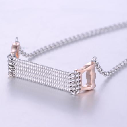 Colier din argint  Fancy Design 4