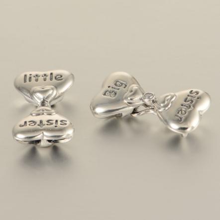 Colier din argint Sisters Love 2