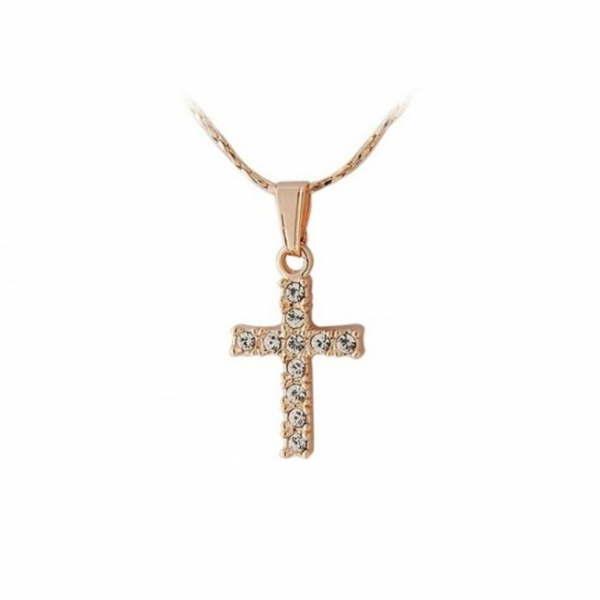 Colier Gold Cross 0
