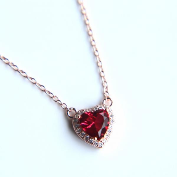 Colier Love din argint 5
