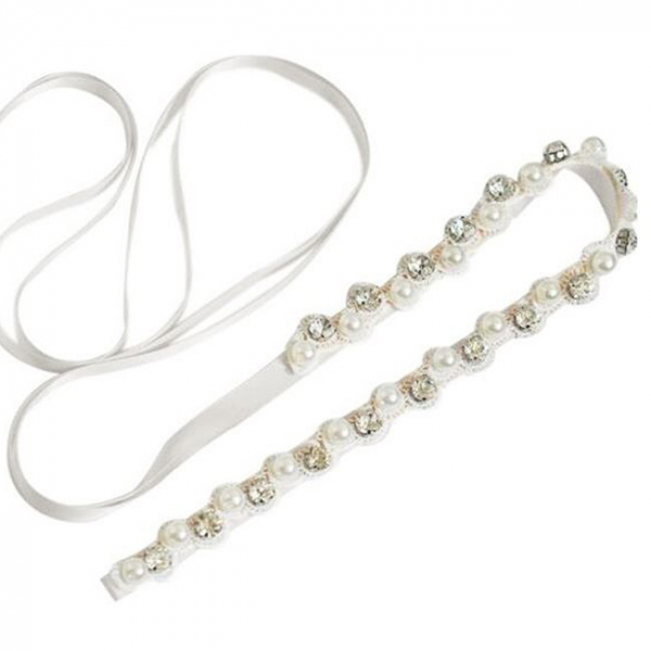 Cordon mireasa Crystals&Pearls 1