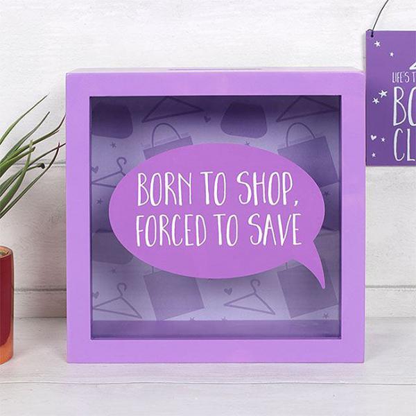 Cutie economii Born to shop 0