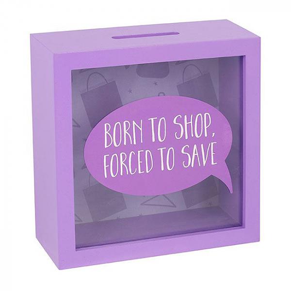 Cutie economii Born to shop 1