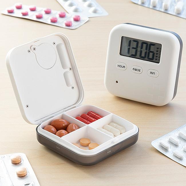 Cutie electronica pentru pastile Innova Goods 1