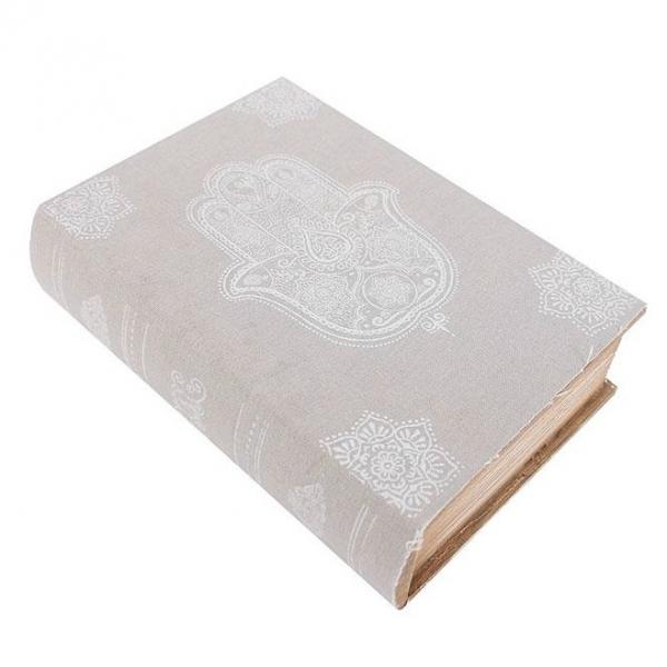 Cutie lemn carte Hamsa 0