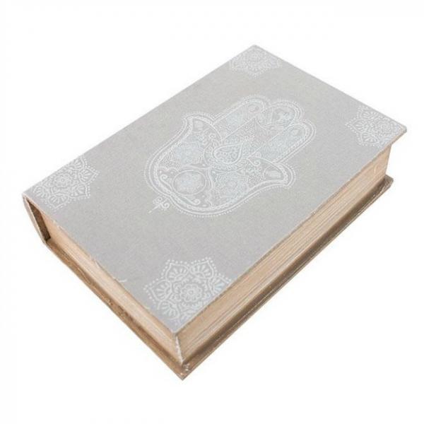 Cutie lemn carte Hamsa 3