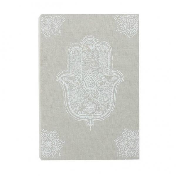 Cutie lemn carte Hamsa 1