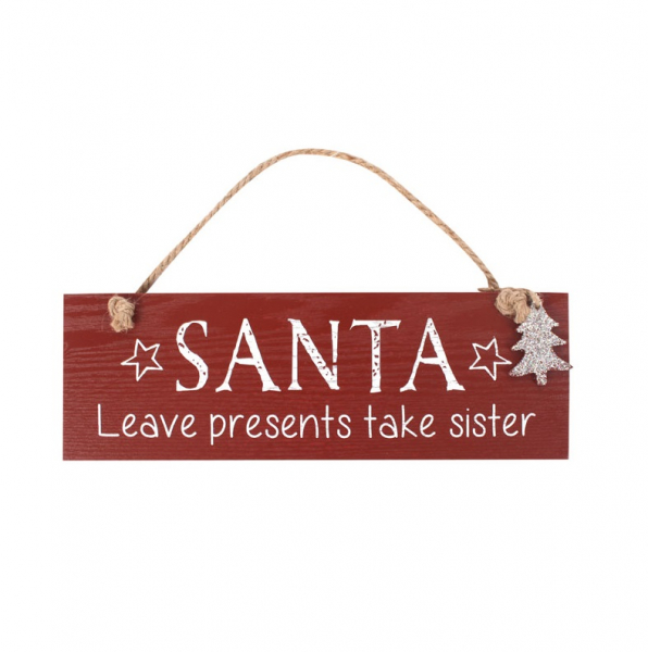 Decoratiune Craciun Santa Take sister 0