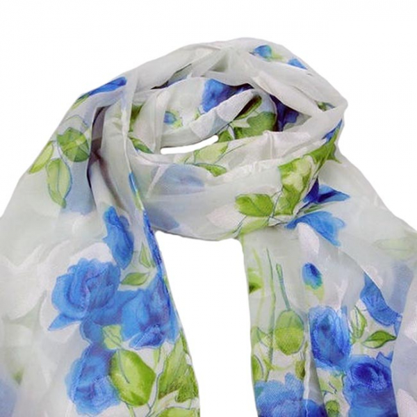 Esarfa Floret Blue [1]
