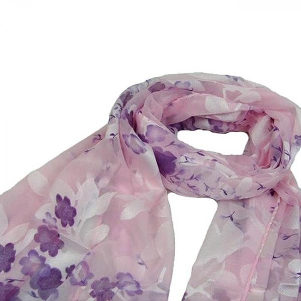 Esarfa Floret Pink [2]