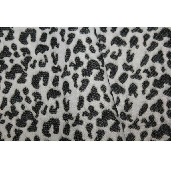 Fular imprimeu crem Leopard [1]