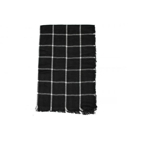 Fular negru si alb [0]