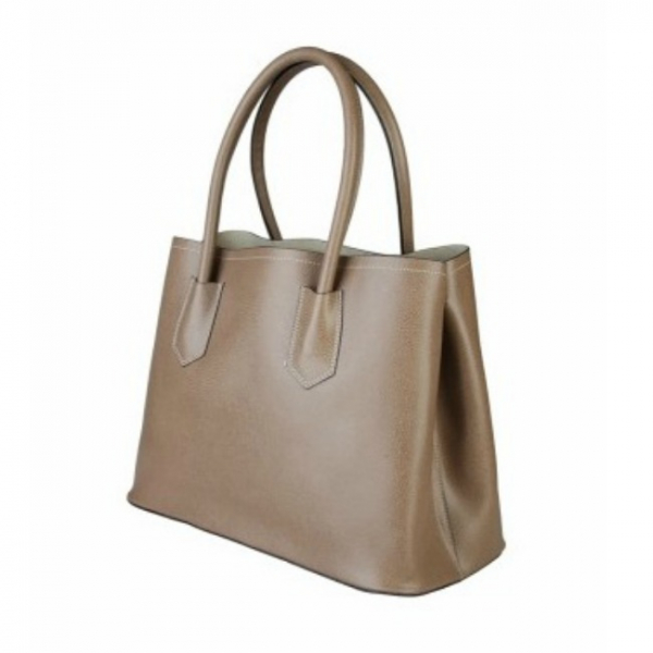 Geanta din piele Made in Italy Brown 0