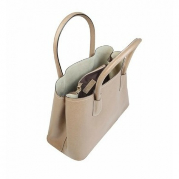 Geanta din piele Made in Italy Brown 2