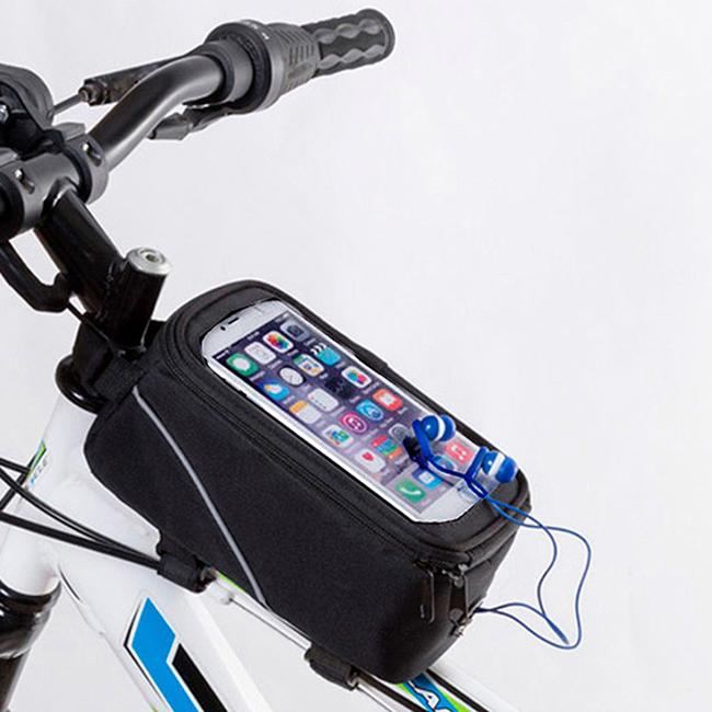 Geanta pentru bicicleta cu ecran tactil 1