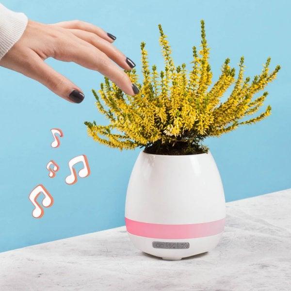 Ghiveci cu speaker incorporat 0