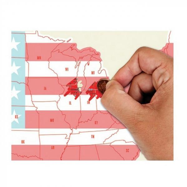 Harta de razuit - America 1