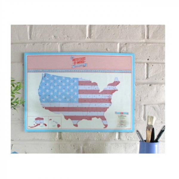 Harta de razuit - America 2