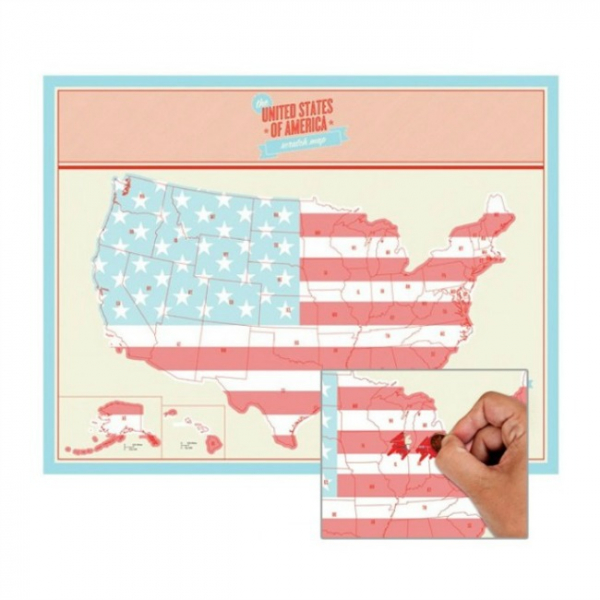 Harta de razuit - America 0