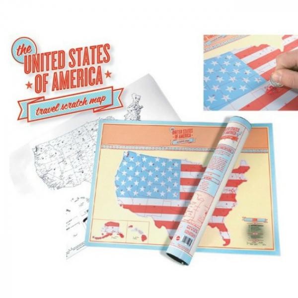 Harta de razuit - America 3
