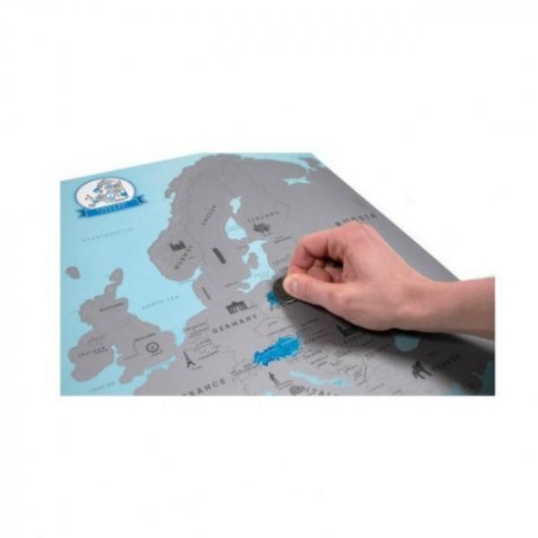 Harta de razuit – Europa 1