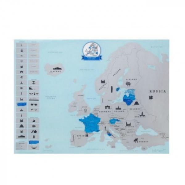 Harta de razuit – Europa 3