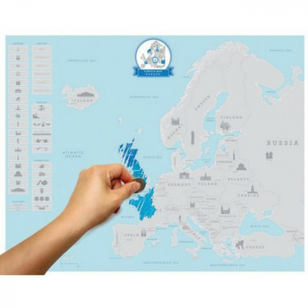 Harta de razuit – Europa [0]